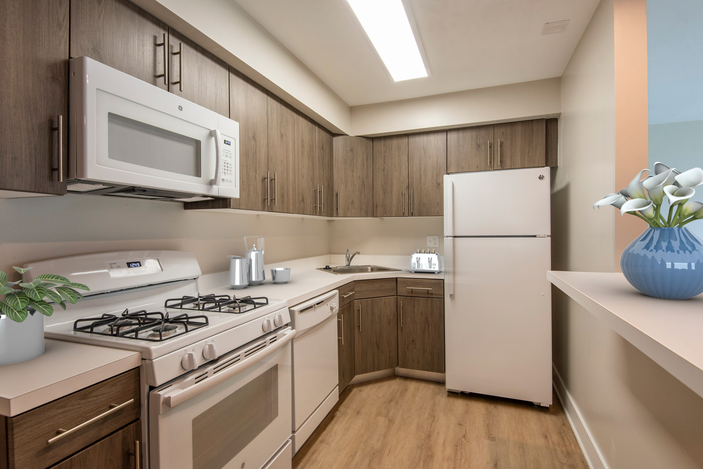 kitchen of apartments in Newark DE