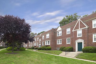 Side view of Canterbury Apartments in Mt. Airy - Galman Group