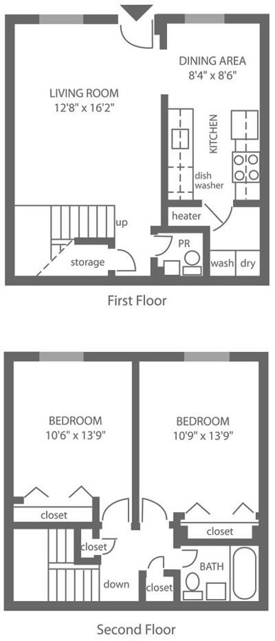 Forest Station 2 Bedroom Townhouse