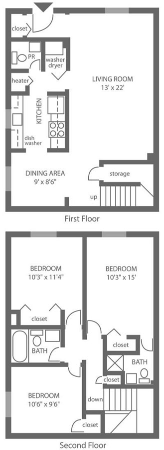 Forest Station 3 Bedroom Townhouse