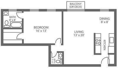 Green Valley Manor 1 Bedroom 1.5 Bath