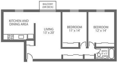Green Valley Manor 2 Bedroom B