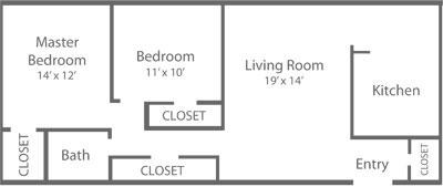 Longford 2 Bedroom