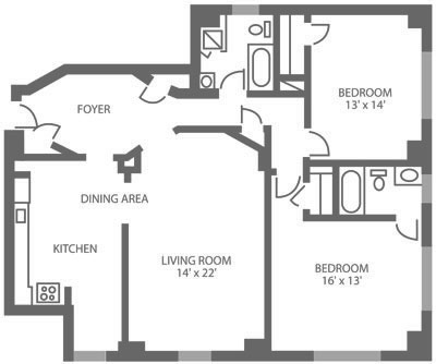 The McCallum 2 Bedroom C