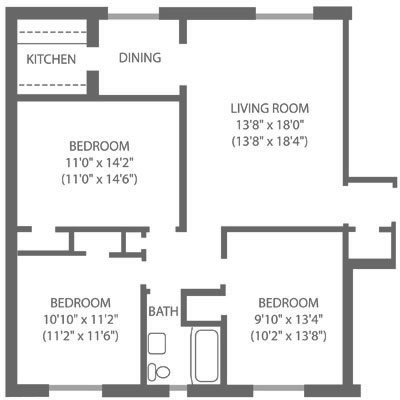 Montgomery Court 3 Bedroom