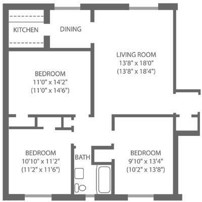 Montgomery Court 3 Bedroom