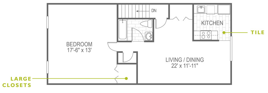North Lane 1 Bedroom Paoli