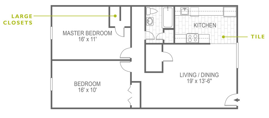North Lane 2 Bedroom Devon