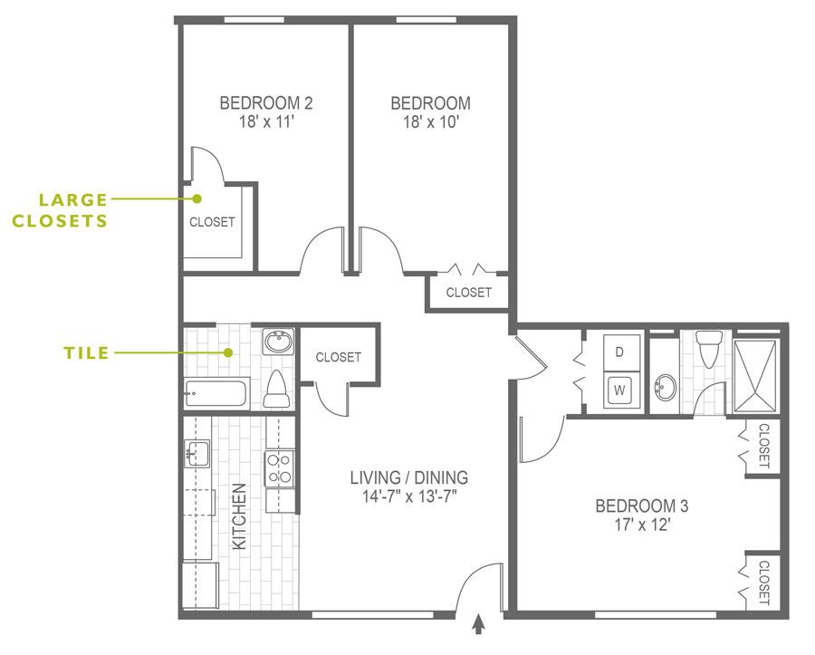 North Lane 3 Bedroom Haverford