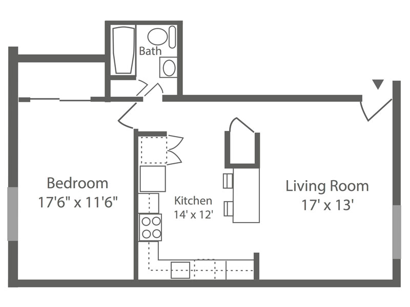 Ambler Crossing 1 Bedroom