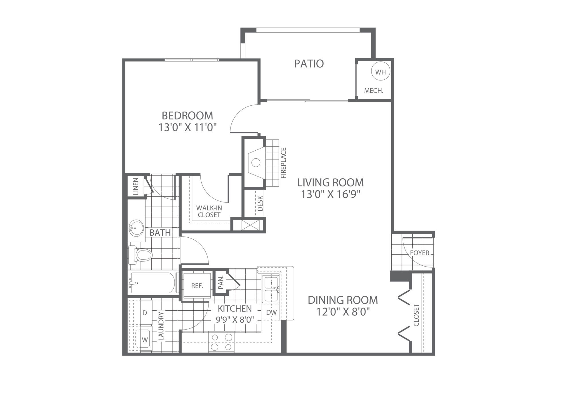 The Edge at Yardley 1 Bedroom