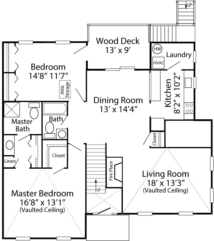 2 Bedroom Essington - 2nd Floor