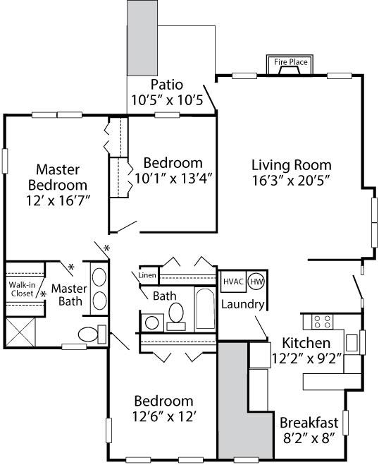 Exeter Village 3 Bedroom Fenton 1st Floor