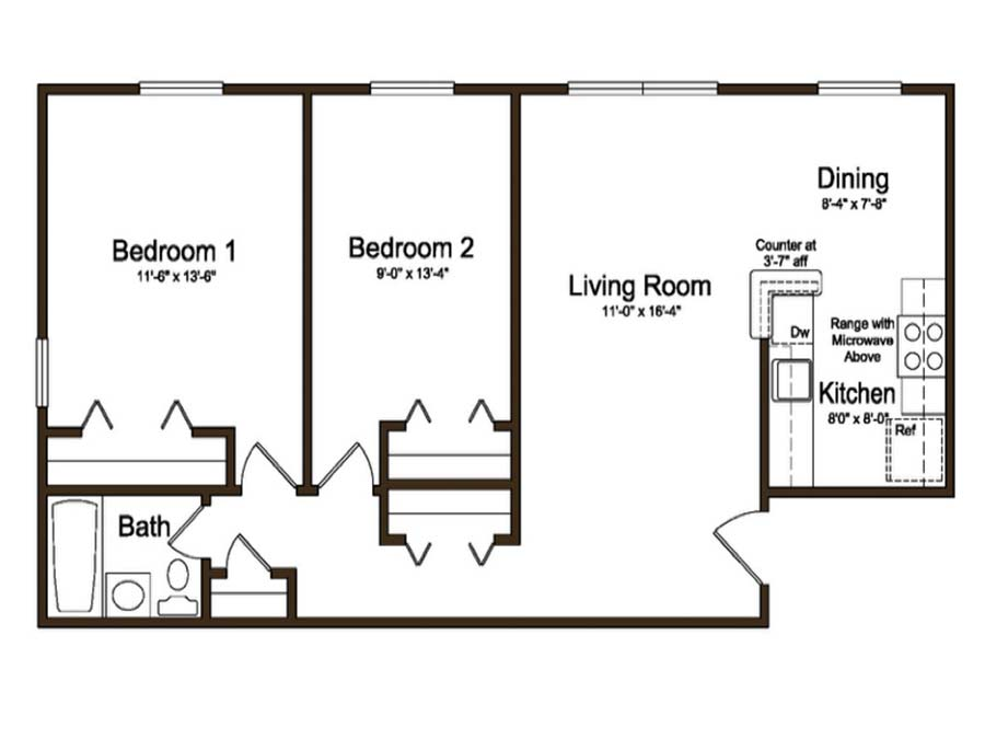 Coventry Apartments 2 Bedroom
