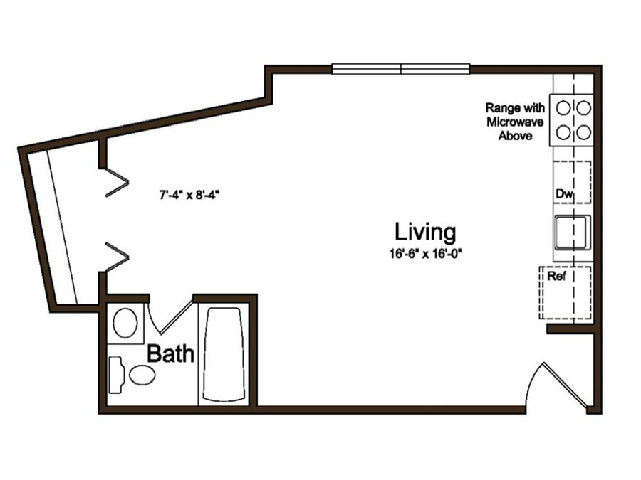 Coventry Apartments Studio
