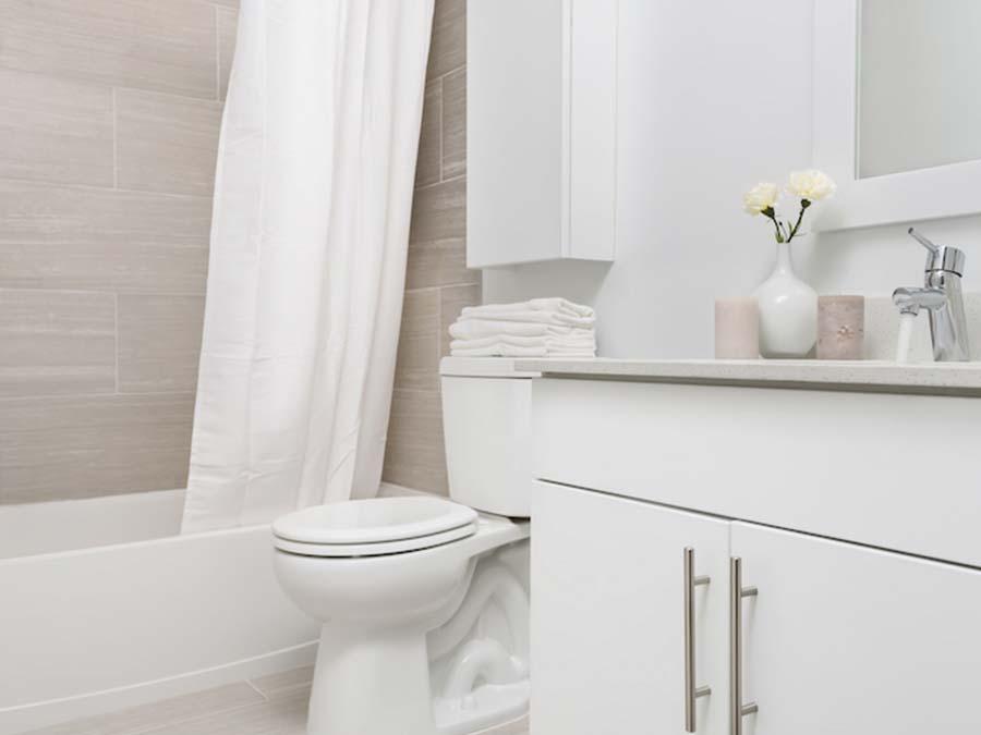 Ambler Crossing white bathroom