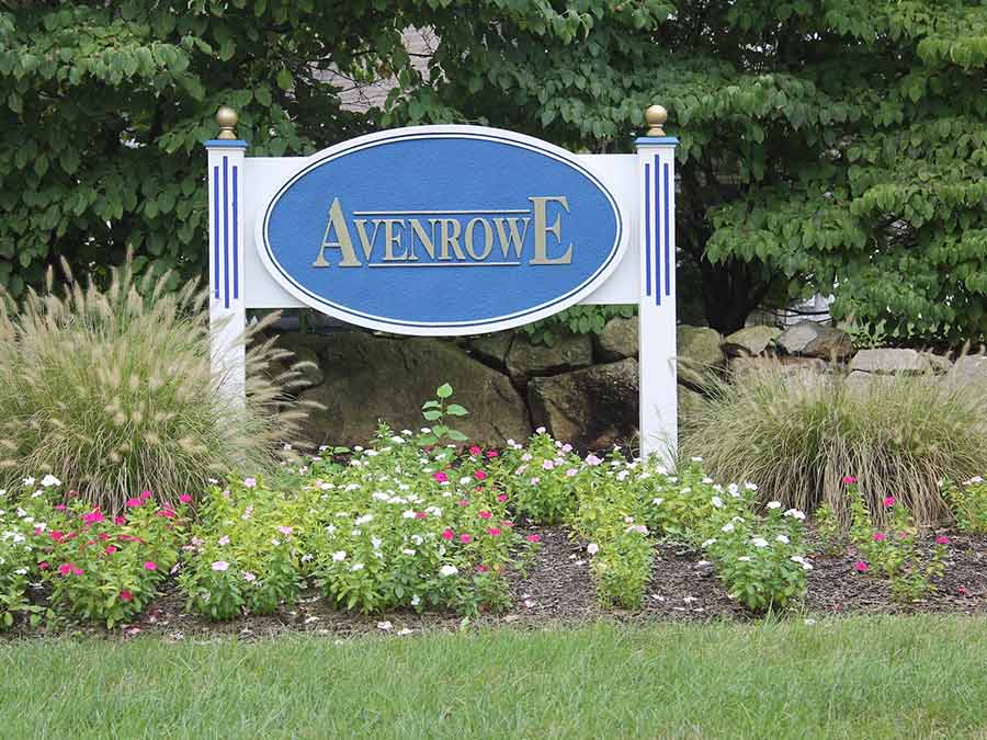 Avenrowe Exterior Sign