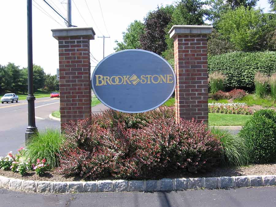 Brookstone Condominium Association exterior sign