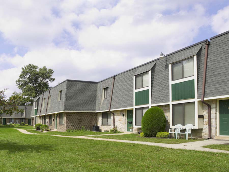 Buckingham Place Townhome Apartments Rentals In Newark De