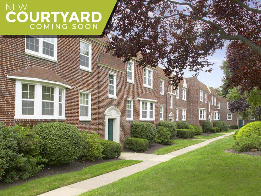 Canterbury Apartments Exterior buildings - new courtyard coming soon