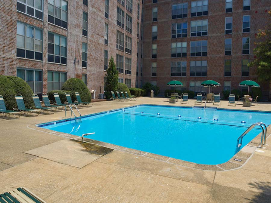 DuPont Towers pool