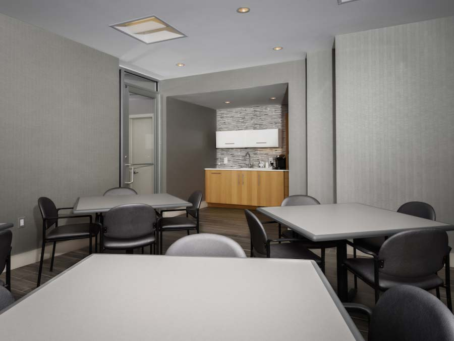 DuPont Towers social room