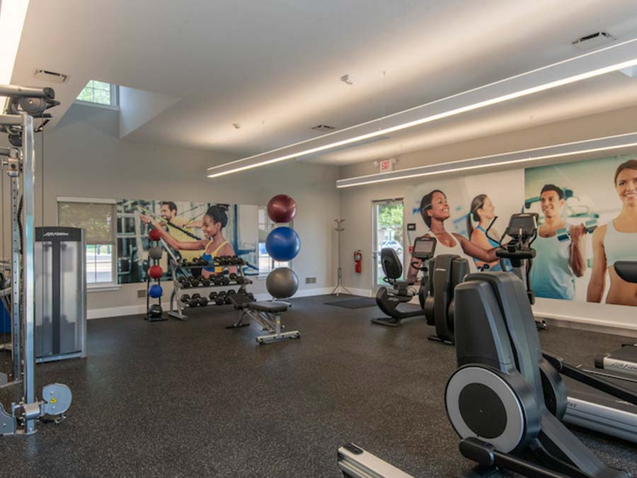 gym equipment for residents in an apartment complex in Reading PA