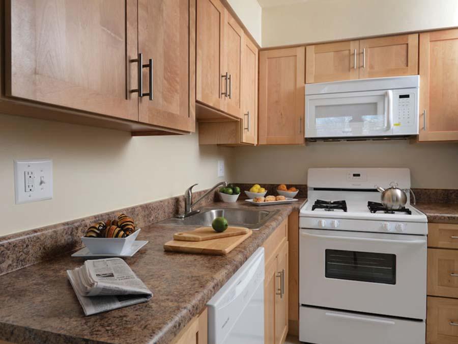 Forest Station kitchen