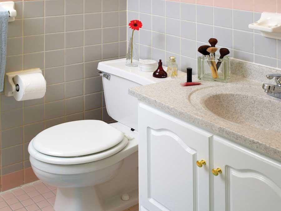 Hampton Gardens bathroom