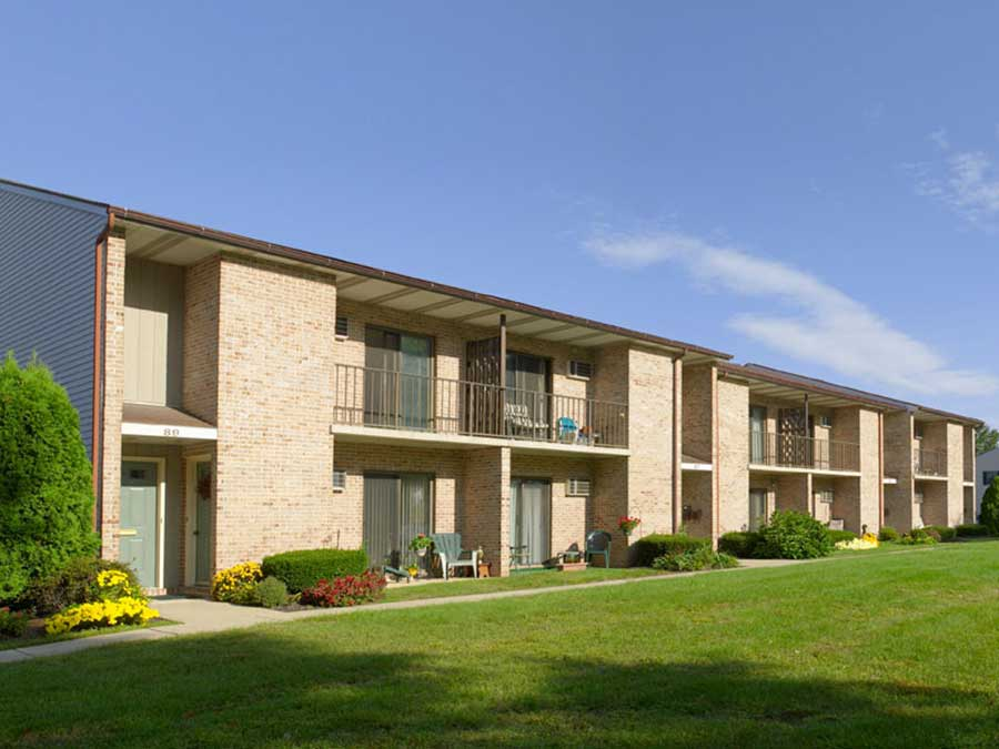 Hillside Apartments exterior building
