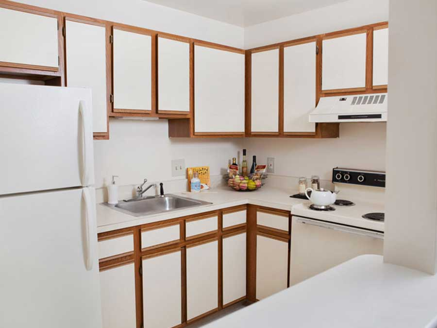 Hillside Apartments kitchen