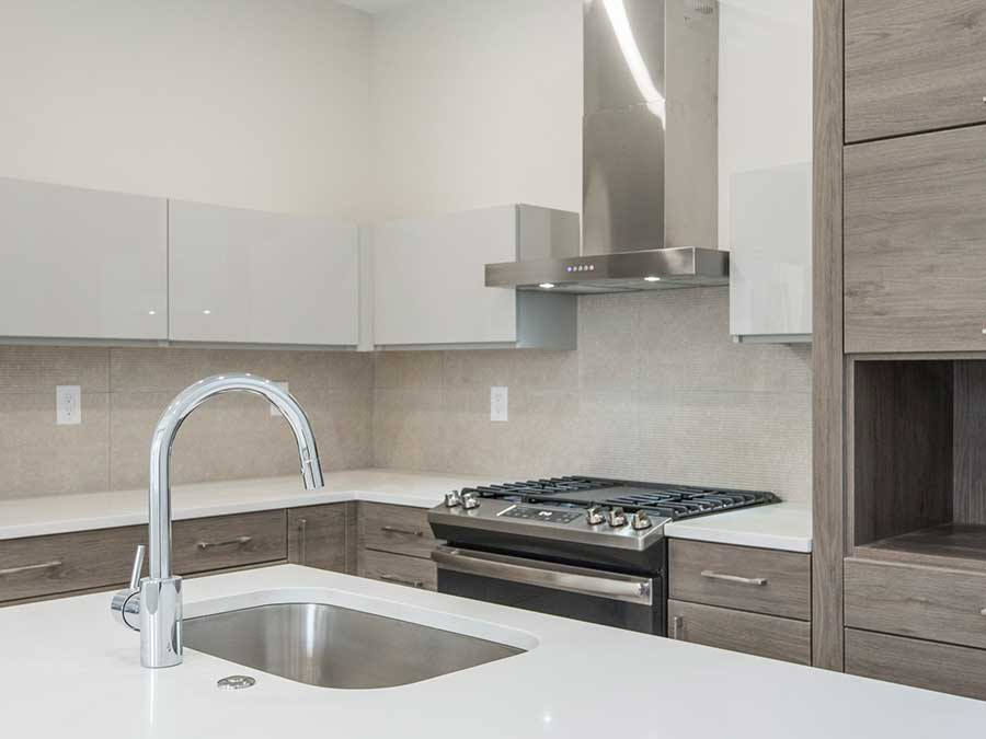 Jeweler's Row Apartments upgraded stoves with vent hood