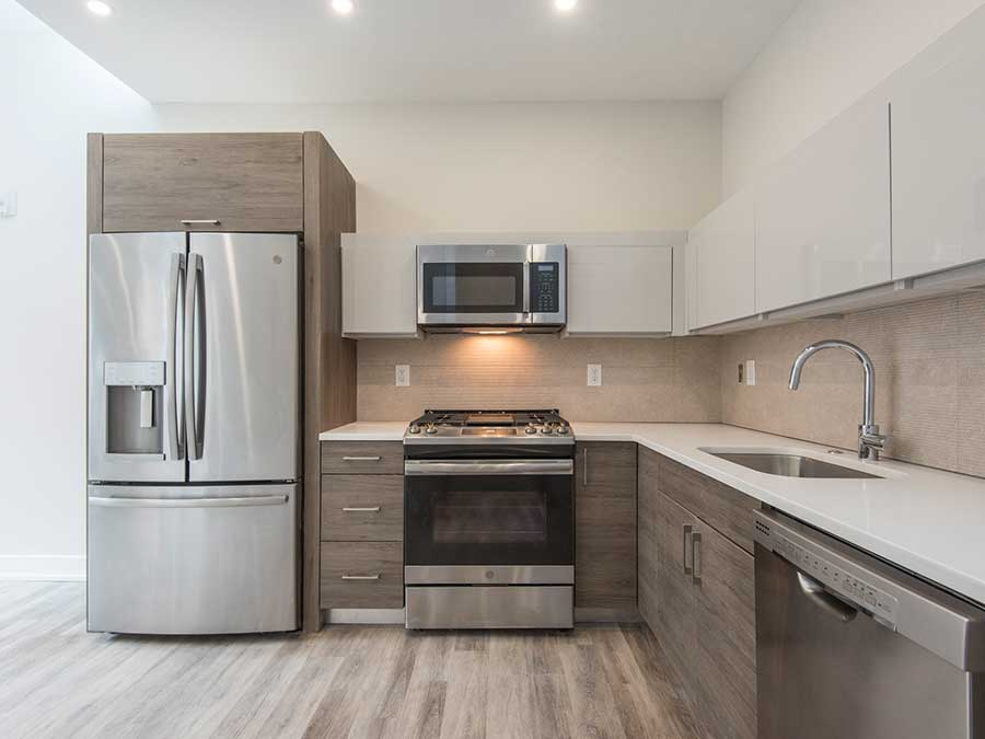 Jeweler's Row Apartments upgraded kichens