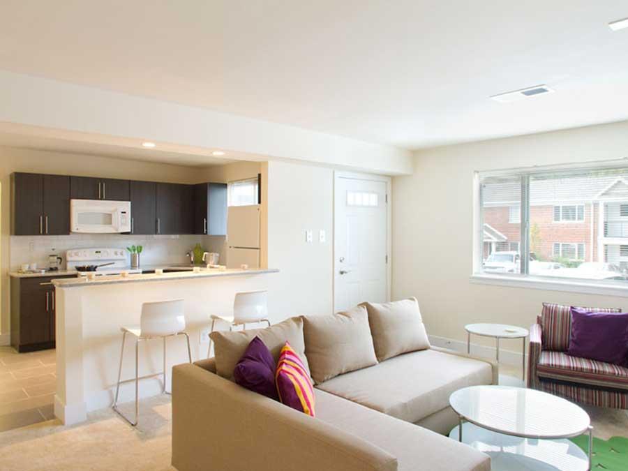 Knightsbridge living room
