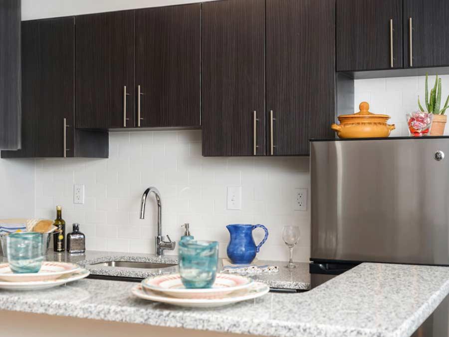 Montgomery Court updated kitchens