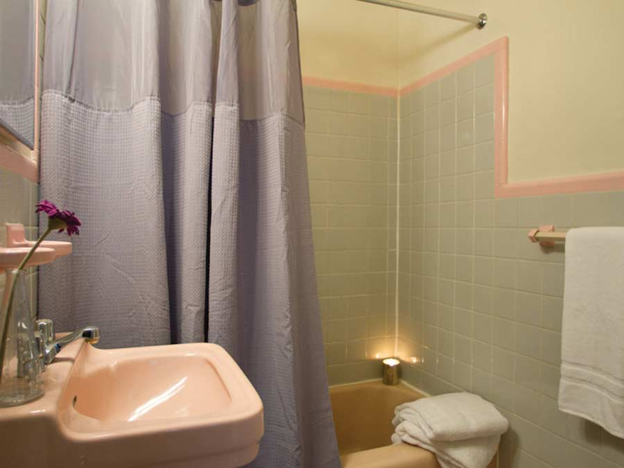 Pine Manor bathrooms