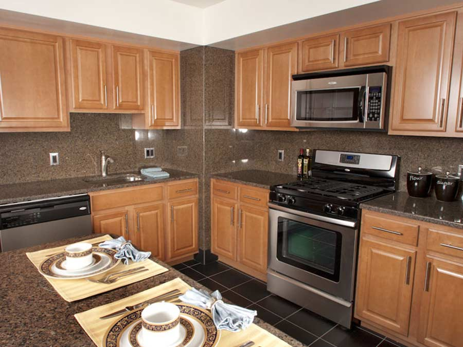 view of appliances in a kitchen in Jenkintown PA