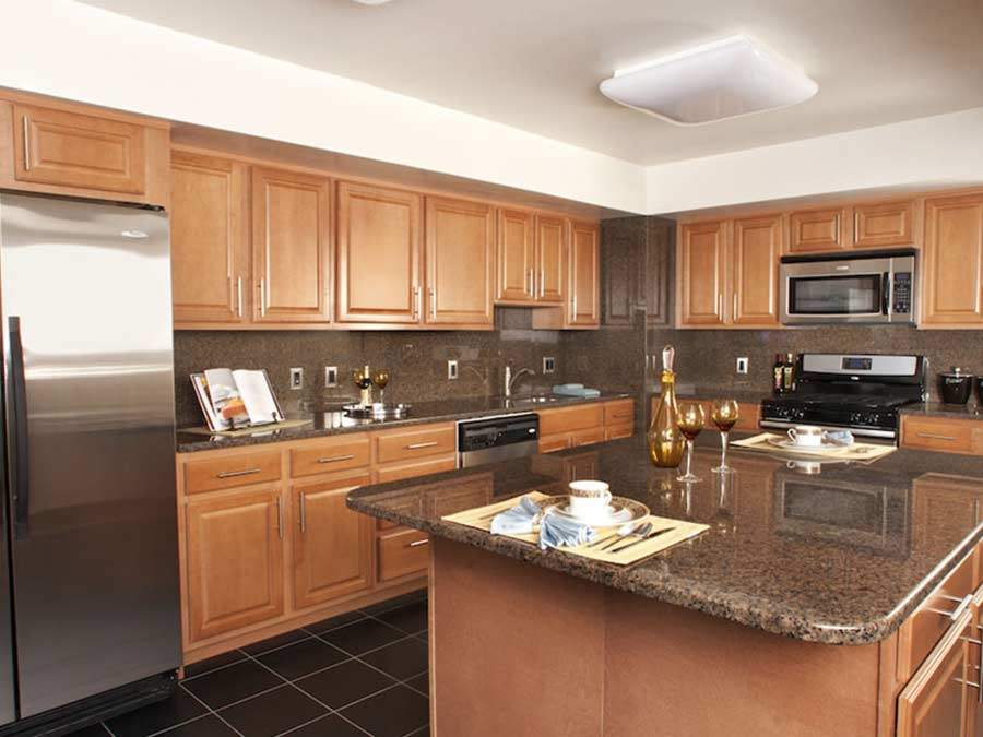 kitchen in a Jenkintown, PA apartment building