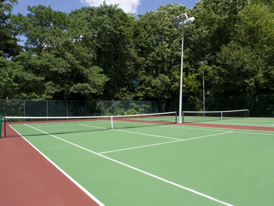 Regency Towers Tennis Courts