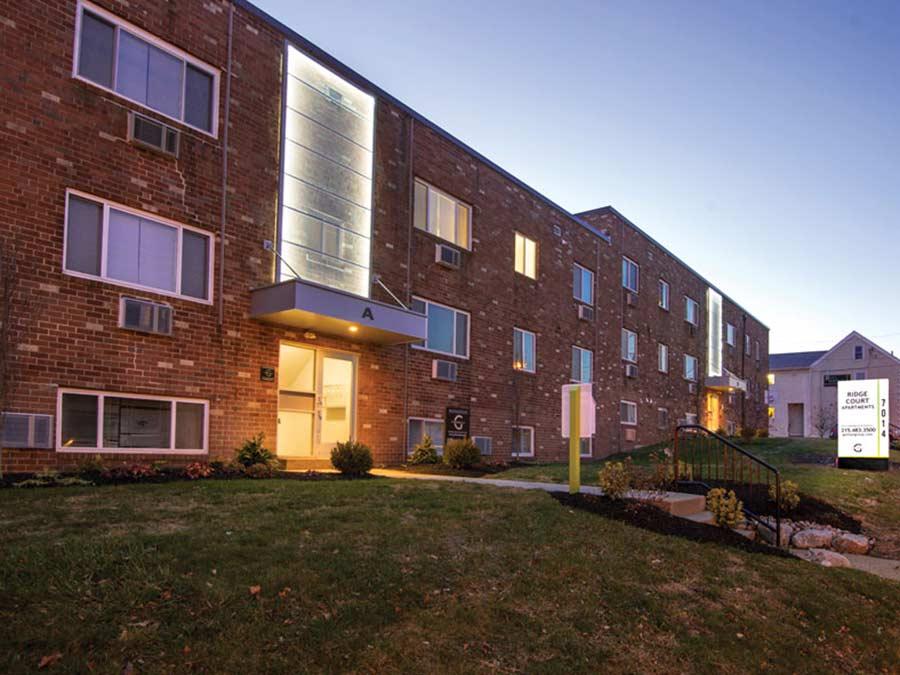 Ridge Court building exterior