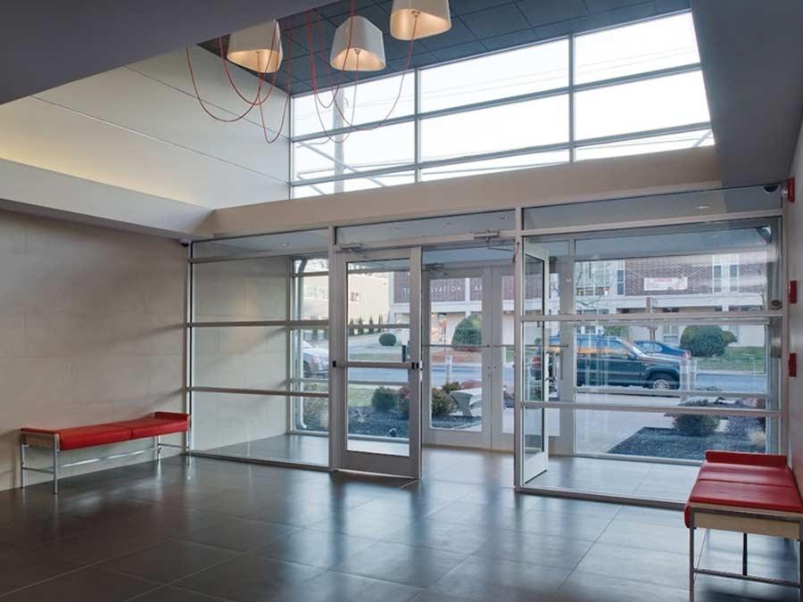 Ridgeview Apartments interior lobby