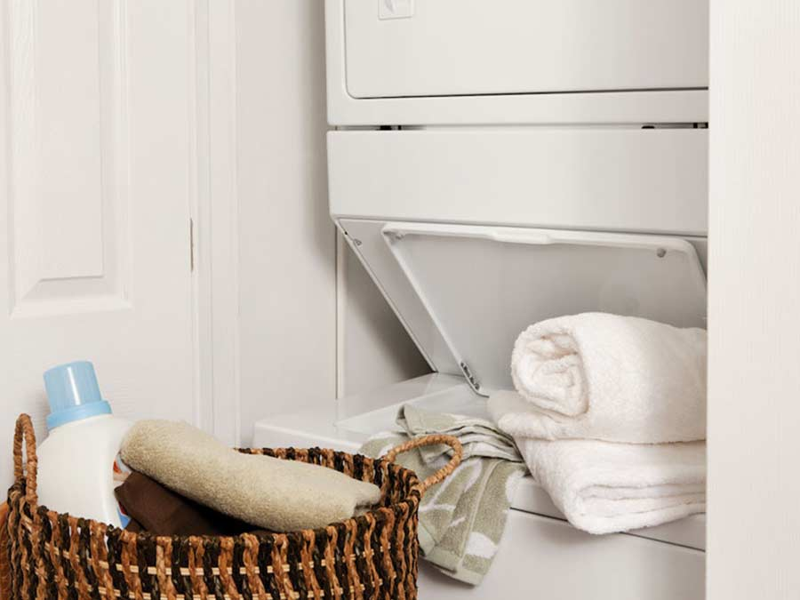Ridgeview Apartments in unit laundry