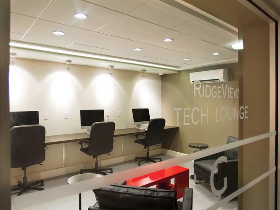 Ridgeview Apartments tech center
