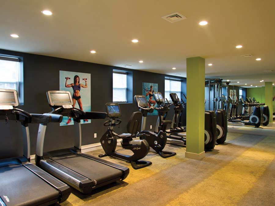 Rock Hill Apartments fitness center