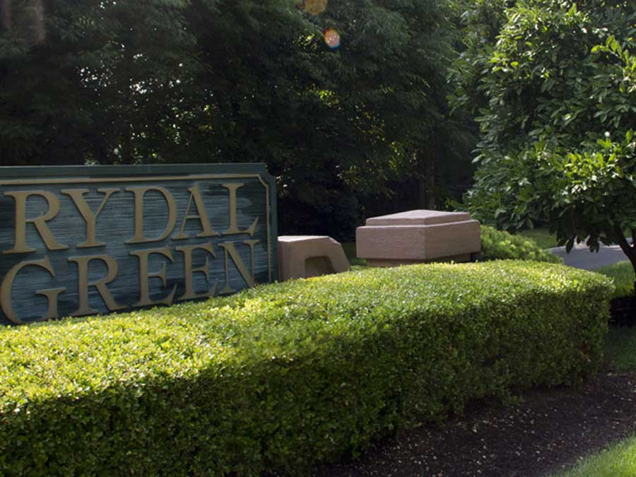 Rydal Green Condominiums exterior sign