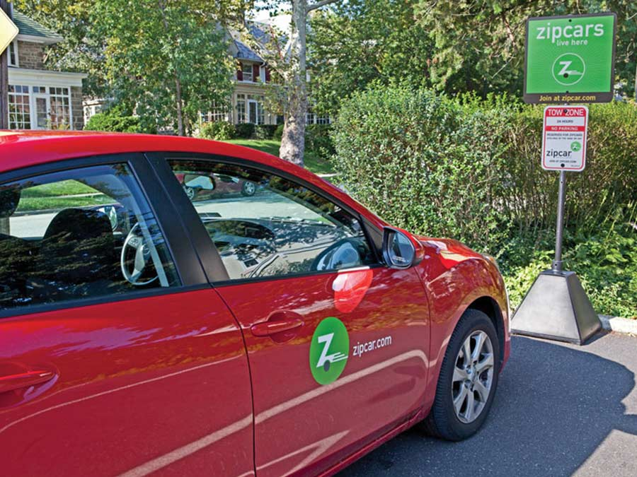 Sedgwick Station zip car available