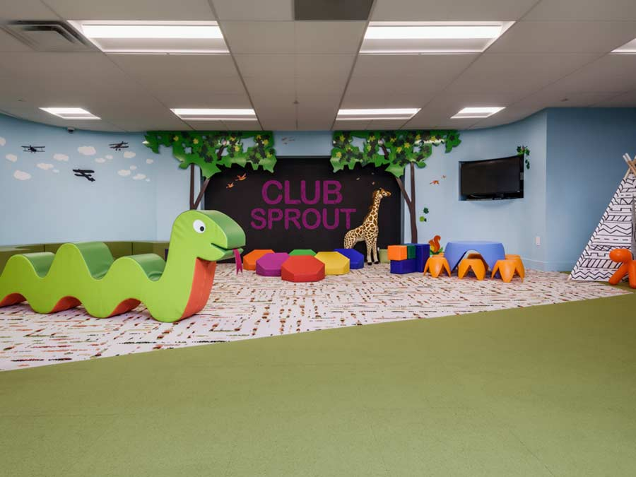 Club Sprout on-site in Valley Forge Towers apartments for rent in King of Prussia