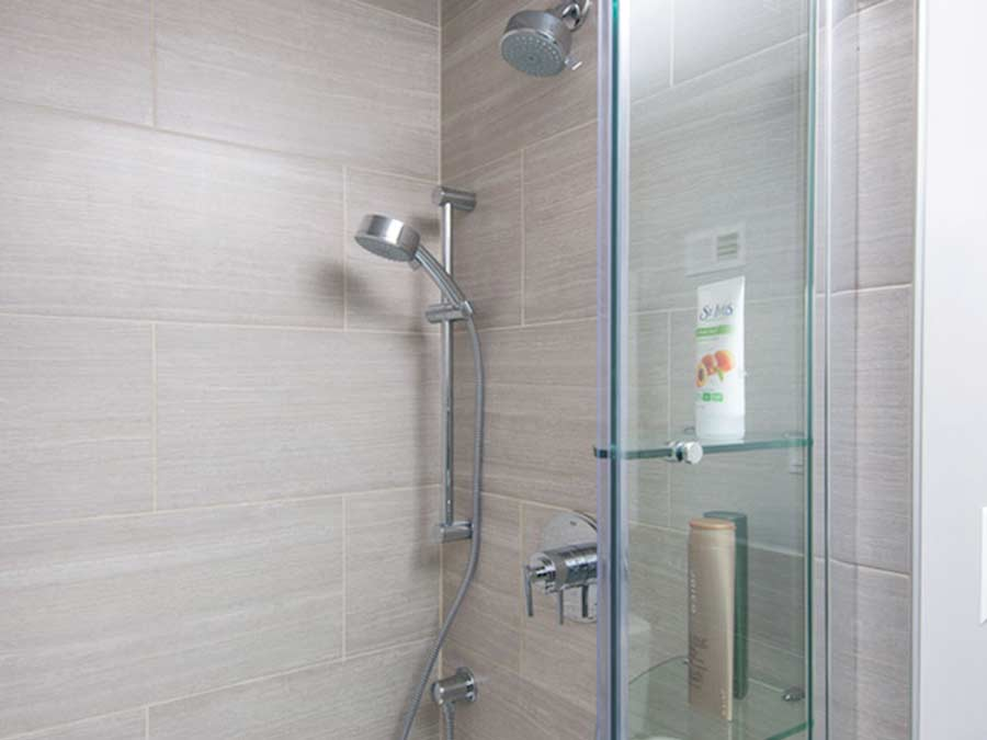 Westfield Apartments bathroom shower