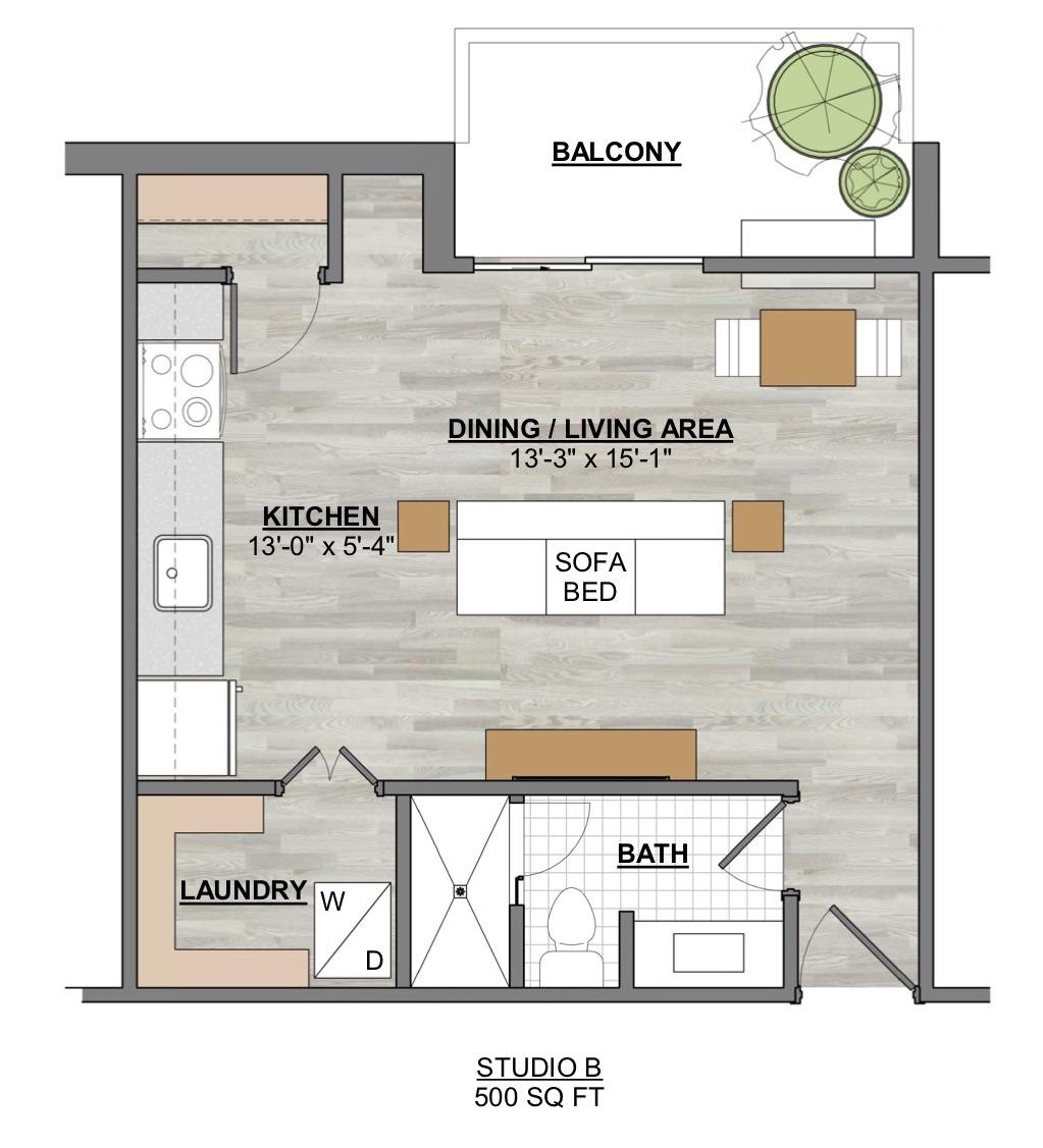 Algon Flats Studio B