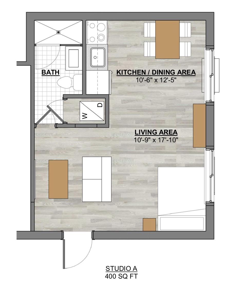 Algon Flats Studio A
